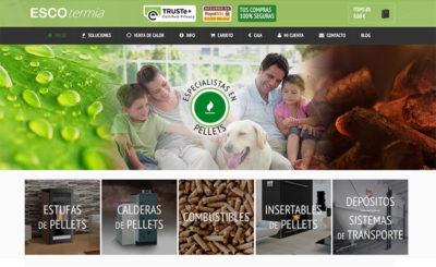 ESCOtermia online se renueva - Estufas de pellets