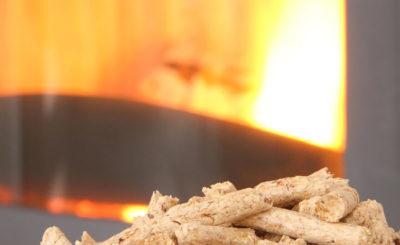 Limpieza de la estufa de pellets